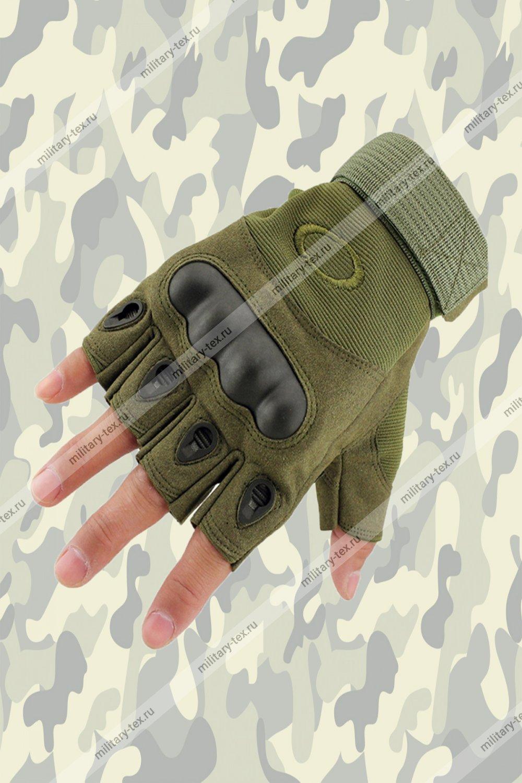 Увеличить - Перчатки тактические (безпалые)