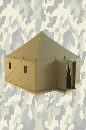 Армейская палатка УСТ56