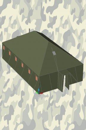 Армейская палатка УСБ56