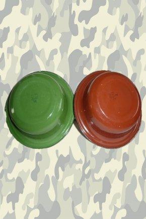 Тарелка армейская эмалированная глубокая