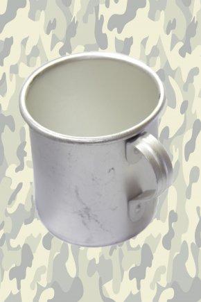 Кружка армейская алюминиевая