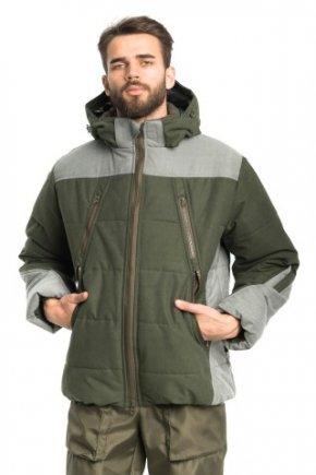 "Куртка - ""Финляндия"" (олива+серый)"